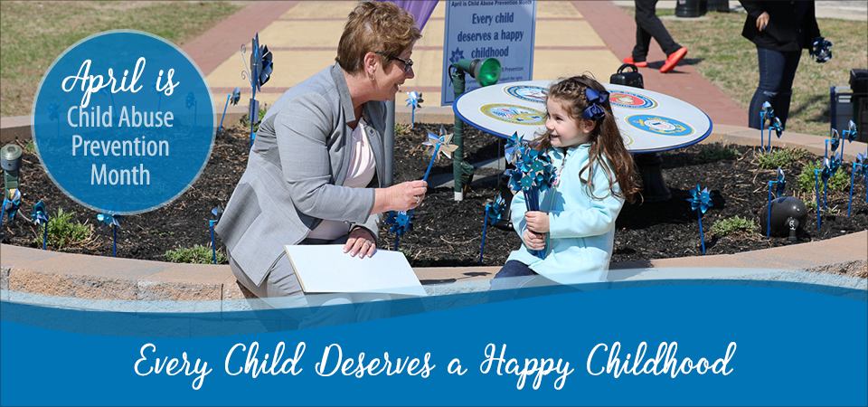 April Child Abuse Prevention Month Banner