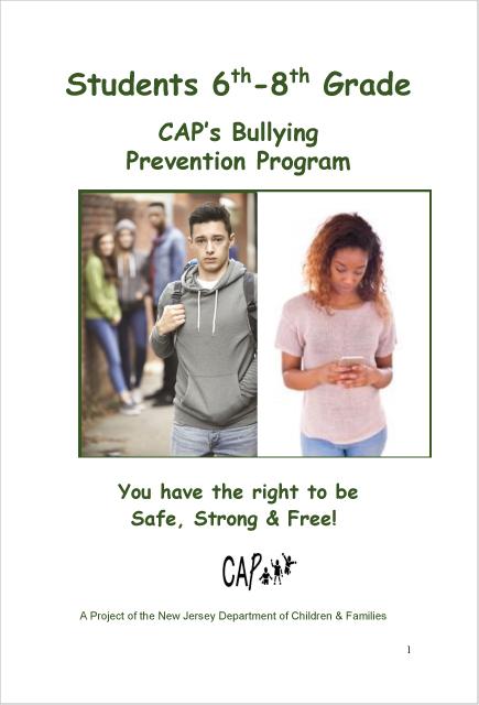 Student CBPP Grades 6-8 2020